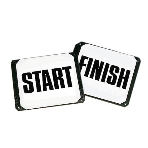 start to finish on steel plates start finish
