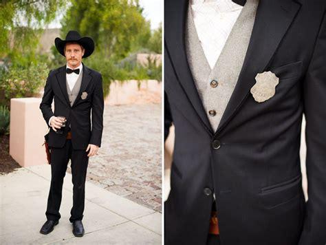 Wedding Western Attire by A California West Wedding Danielle Phil Green