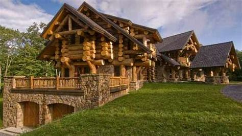 stone and log house plans log home house plans a monumental and majestic masterpiece