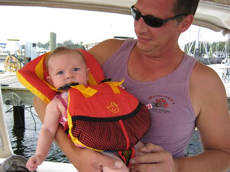 boat safety for infants is it safe to bring a baby or infant on a boat boater kids
