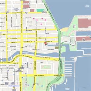 Map Of Chicago Navy Pier navy pier chicago map