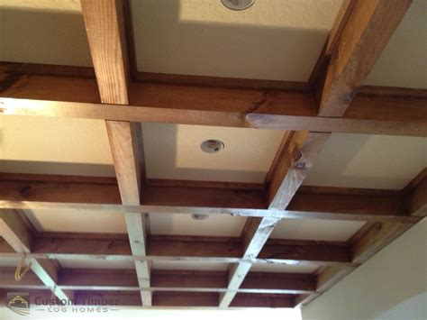 Stained Coffered Ceiling Bradshaw Home Completion And Co Certificate Of Occupancy