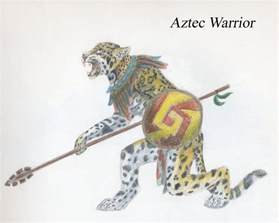 Aztec Jaguar Warrior Aztec Warrior Drawing New Calendar Template Site