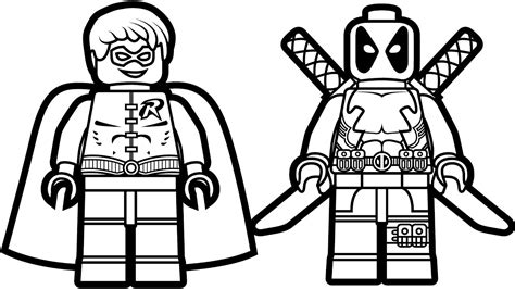 35 lego deadpool coloring pages free coloring pages of