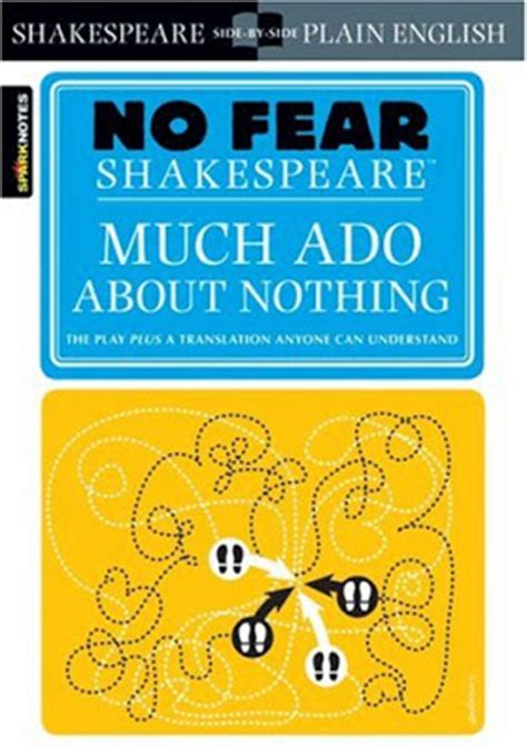 much ado about nothing books book no fear shakespeare much ado about nothing