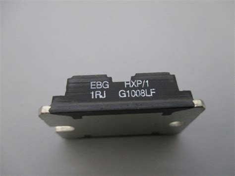 power resistor ebg hxp 1 1rj g1008lf process industrial surplus