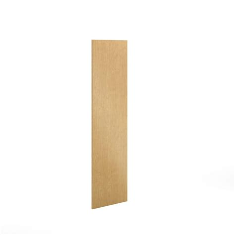 cutting kitchen cabinet end panels eurostyle 24x80x0 75 in finishing end panel in natural