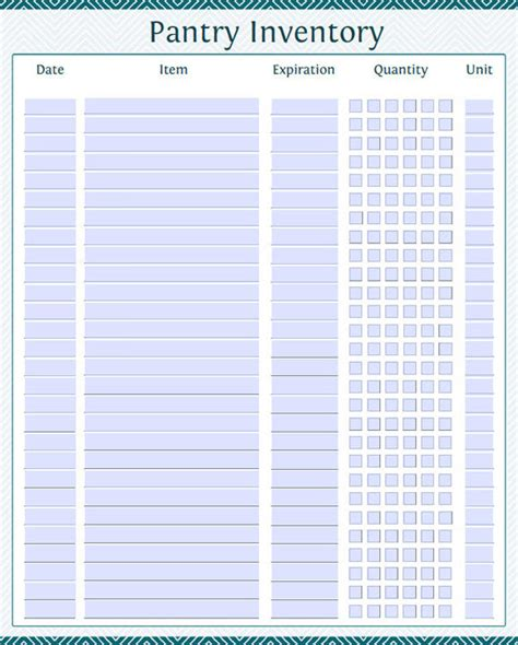 grocery inventory template inventory list template 7 in pdf word excel psd