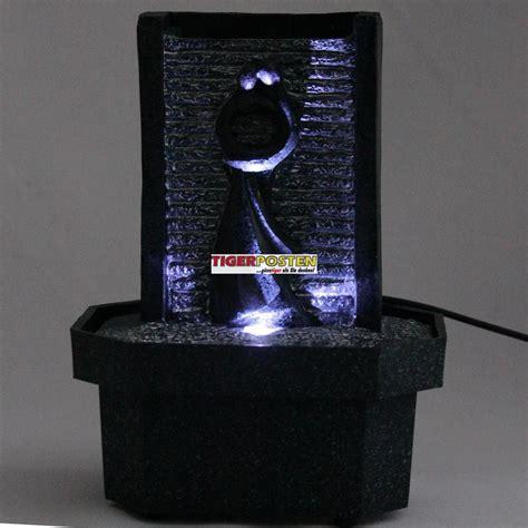 led brunnen beleuchtung led zimmerbrunnen mit wasserpumpe tisch brunnen aus kunststoff