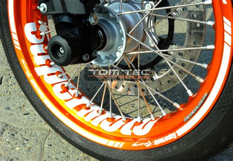Ktm 690 Supermoto Wheels Wheel Sticker Supermoto Rims Ktm Smc 690 Lc4 660 625 Smr