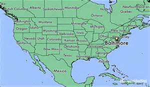 usa map baltimore md where is baltimore md where is baltimore md located