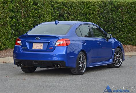 subaru sti 2016 2016 subaru wrx sti limited review test drive fendybt2