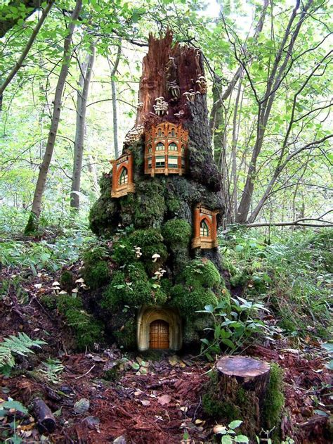 fairy homes fairy tree houses fairy tree house tree houses