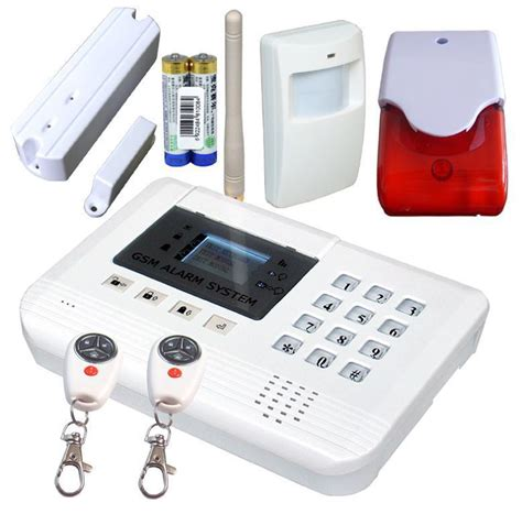low cost house alarm system wireless intruder alarm panic