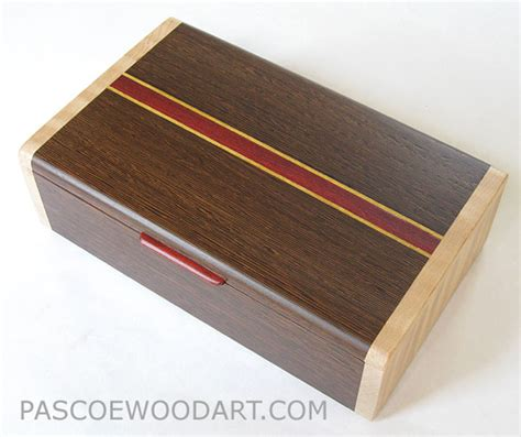 Handmade Keepsake Box - handmade wood box medium size keepsake box wenge
