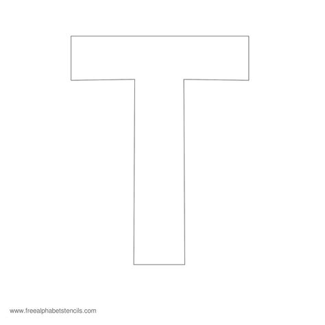 printable letter t stencils alfabet alfabet letters and lesplannen on pinterest