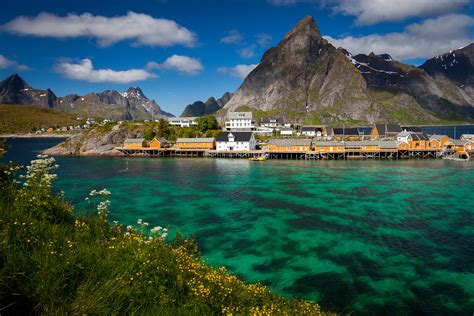 Small Villages by Amazing Photos From Lofoten Islands Norway By