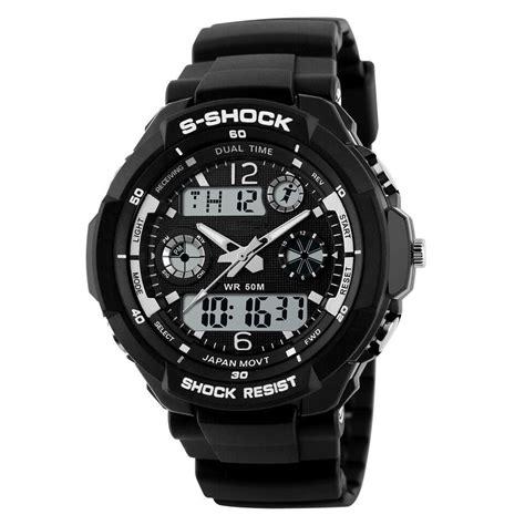 Jam Tangan Pria Rubber mortima jam tangan sporty pria rubber model 17