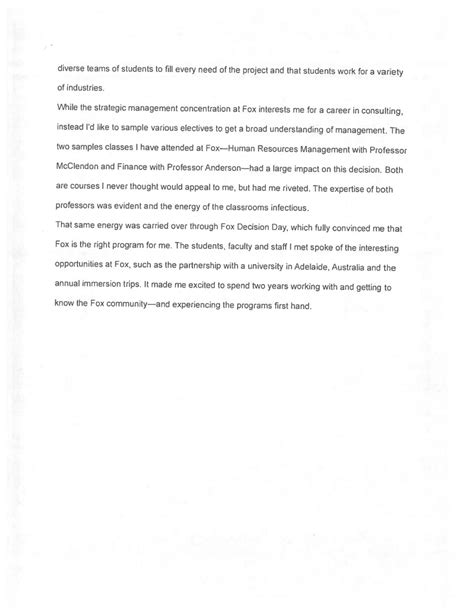 Narrative Essay On Future Of Management by 2 Mba Admissions Essays That Worked Applying To Business