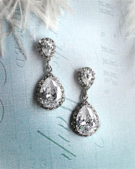 Ohrringe Hochzeit Vintage by Vintage Wedding Earrings 1920s Earrings Vintage Bridal