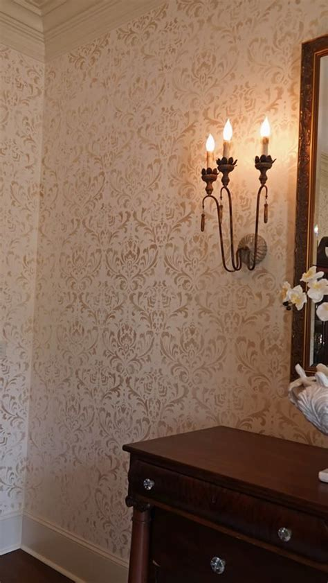 wall stencils for room best 25 damask stencil ideas on free damask