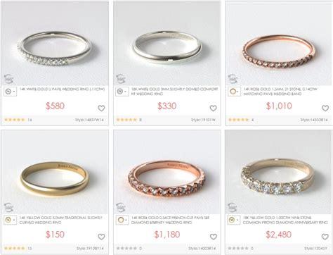 Wedding Ring Vs Normal Ring by Differences Between 10k 14k 18k Yellow Gold Karat