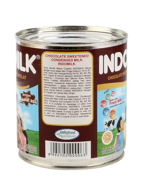 Kental Manis Indomilk 1 Dus Indomilk Kental Manis Chocolate Klg 370g Klikindomaret