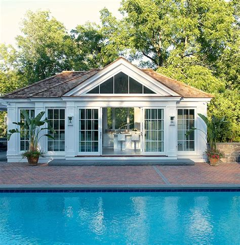 pool house guest house rancher pinterest laura tutun interiors pools pool house sliding glass