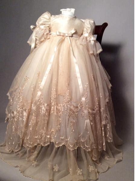 victorian christening gown jessenia sale   stock