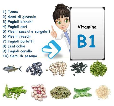 tiamina alimenti vitamina b1 tiamina aneurina vitamine proteine