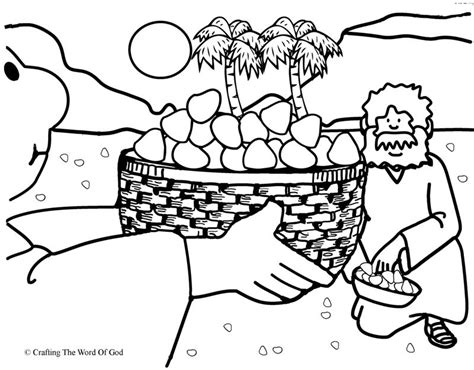 moses quail coloring page manna from heaven coloring page 171 crafting the word of god