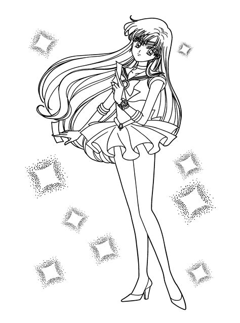 Sailor Mars Free Coloring Pages On Art Coloring Pages Sailor Mars Coloring Pages