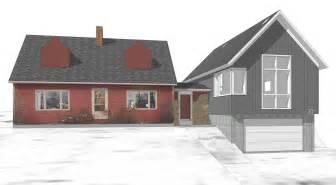 attached garage addition plans