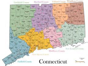 map of towns and counties map of connecticut 100 more photos