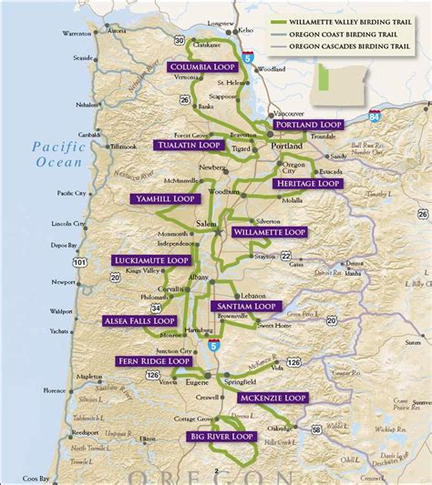 oregon birding trail trail map