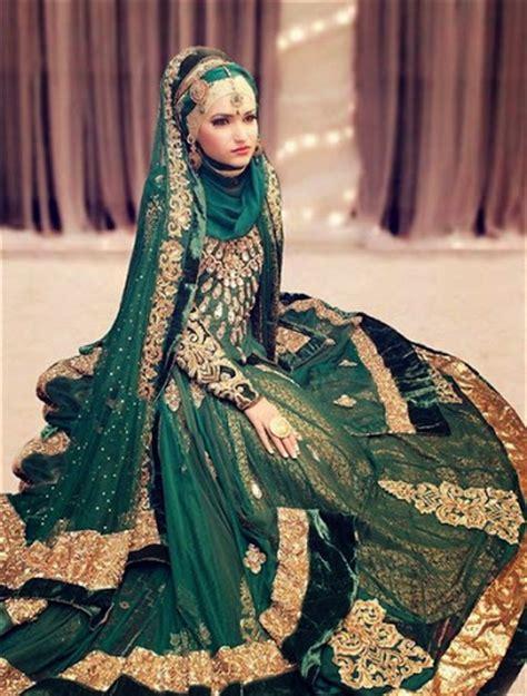 contoh baju pengantin muslim ala india terbaru 2016 2017