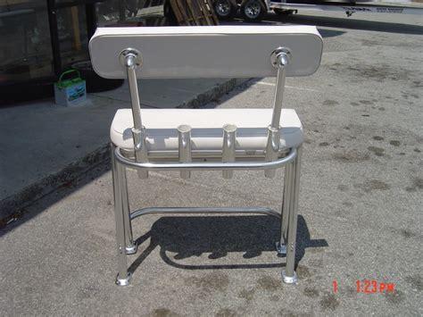 boat leaning post custom aluminum leaning post