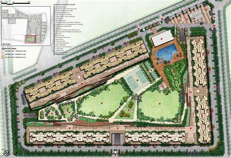 site plan tata eureka park noida