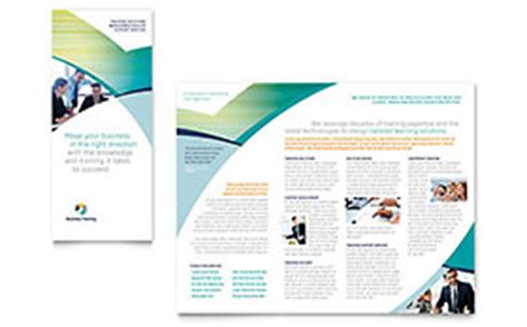 Professional Services Tri Fold Brochure Templates Word Publisher Microsoft Office Trifold Template