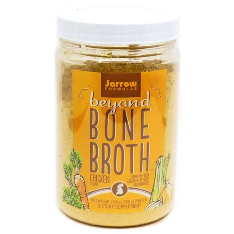 protein 8 ounces chicken beyond bone broth chicken by jarrow 10 8 ounces
