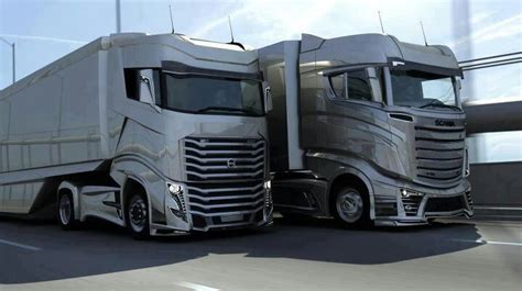 volvo vs scania trucks trailers