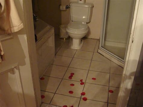 akwaaba bed and breakfast rose petals in the bathroom picture of akwaaba mansion