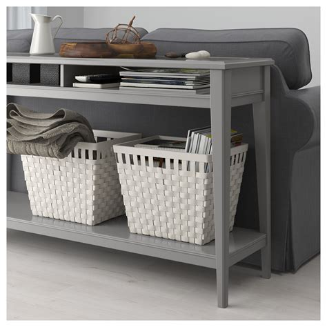 Liatorp Console Table Grey Glass 133x37 Cm Ikea Liatorp Sofa Table
