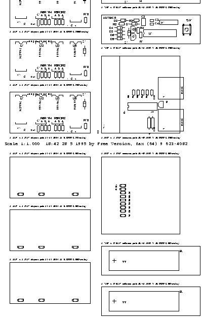 Autotax Laser Plotting