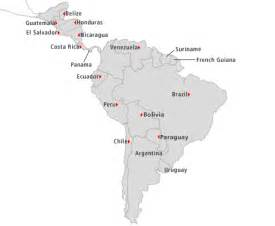 map of south america and central america quiz