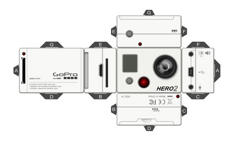 gopro pepakura by kreativ kid on deviantart