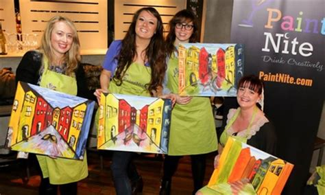 groupon paint nite paint nite social painting event paint nite uk groupon