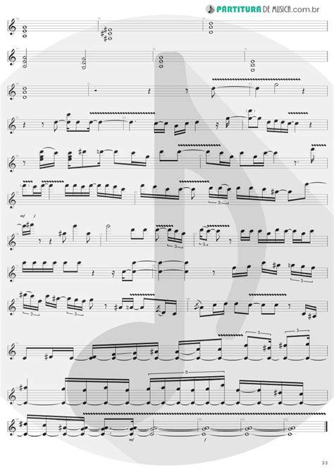 Partitura de musica - Guitarra Elétrica | Avant Garden
