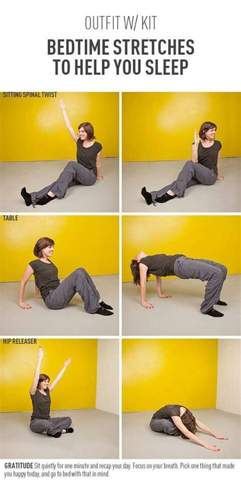 stretches before bed 3 bedtime stretches to help you sleep fitness tips