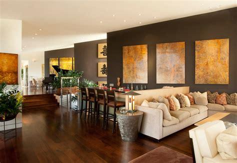 wandgestaltung in braun 50 wohnzimmer wohnideen - Gelbe Und Braune Wohnzimmer Ideen